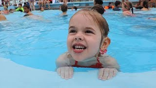 LEARNING TO SWIM ON A DISNEY CRUISE!