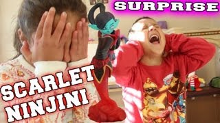 Scarlet Ninjini Surprise! Mom & Dad Swap Force lol