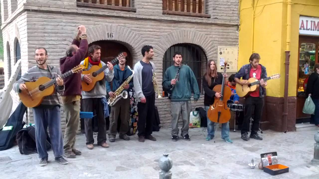 Milchakas Street Music In Granada Spain Youtube