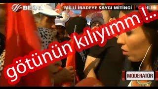 Erdoğan'ın Götünün Kılı Olan Teyze