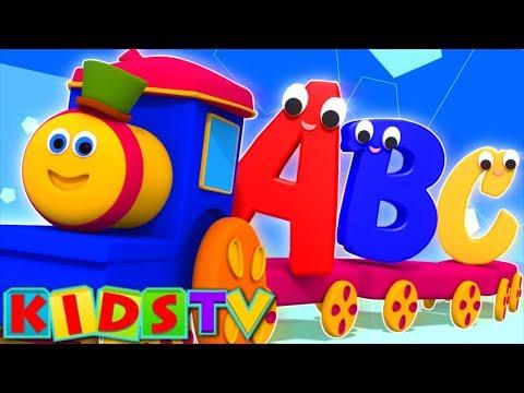 Bob The Train   Alphabet Adventure   abc Song   abcd song   kids tv show   Cartoon abc songs   abcd