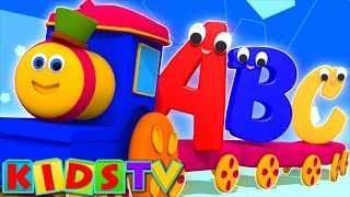 Repeat youtube video Bob The Train | Alphabet Adventure | abc Song | abcd song