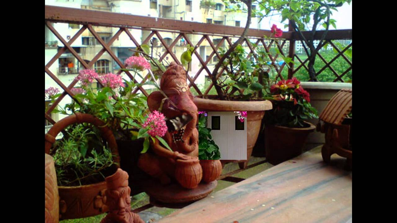 Garden ideas small balcony garden ideas youtube for Indian home garden design
