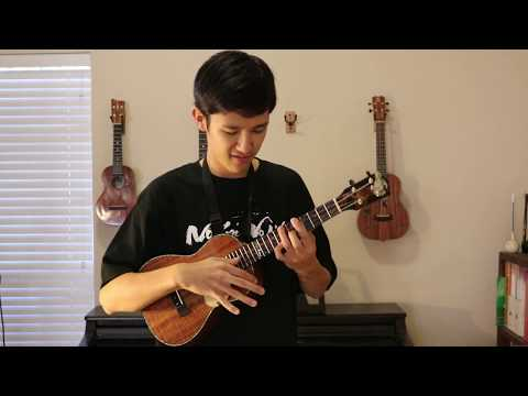 Thesis of a Cruel Angel -- Evangelion (Cover) -- Solo Ukulele