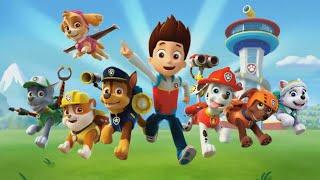 Щенячий Патруль Райдер и его щенки собираем пазлы для детей с героями мультика PAW Patrol