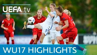 UEFA Women Under-17s Highlights: England 3-4 Germany