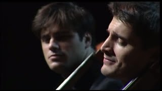 2CELLOS - Bach Double Violin Concerto in D minor - 2nd mov [LIVE VIDEO]