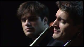 2CELLOS - Bach Double Violin Concerto in D minor - 2nd mov [LIVE VIDEO]
