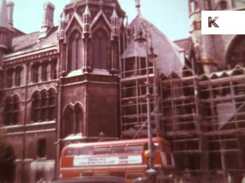 1970s Royal Courts of Justice London