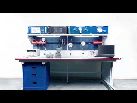 Метрологический стенд для поверки СИ давления и вакуума