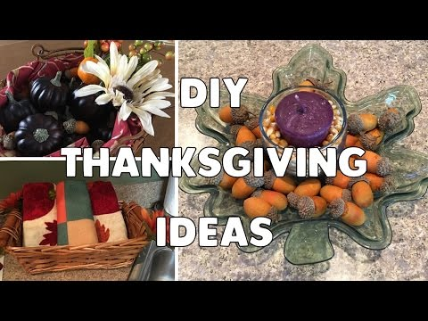 DIY Thanksgiving Decor & Hosting Ideas | Easy & Affordable!