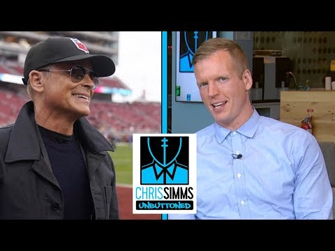 Championship Sunday Pictures: Rob Lowe, Aaron Rodgers and more | Chris Simms Unbuttoned | NBC Sports