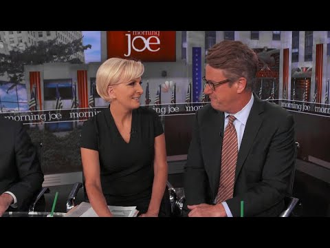 "Joe Scarborough and Mika Brzezinski of ""Morning Joe"""