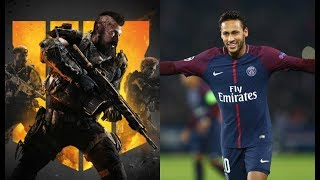 Live NEYMAR JR Jogando Call Of Duty: Black Ops 4
