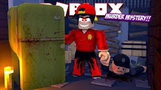 ROBLOX - MURDER MYSTREY, GETTING RID OF MY BEST FRIEND!!!
