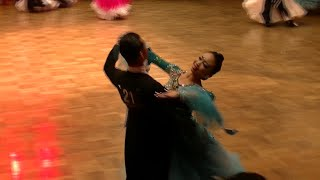 稲葉寿里・立石ケント 東京ダンスグランプリ スタンダード ワルツ 春日部AKIダンスアカデミー|ダンススクール