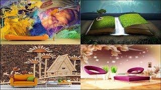 Latest 5D Wallpaper |Customize 3D Wallpaper For bedroom living room | Interior Ideas 3D Wall Art