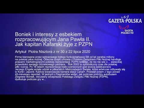 Artykuł z nr 30 GP. Boniek i interesy z esbekiem rozpracowującym Jana Pawła II