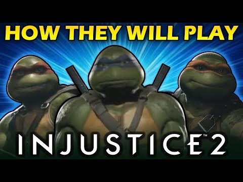 Thumbnail: Injustice 2 - How the Ninja Turtles will Play - Team Character Analysis