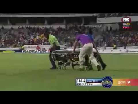 Horror head  in Caribbean T20