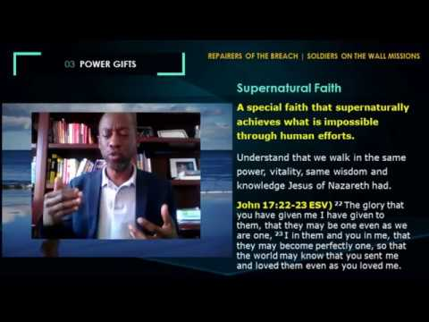 The Gifts of Faith and Working of Miracles   Gifts of the Holy Spirit part 6