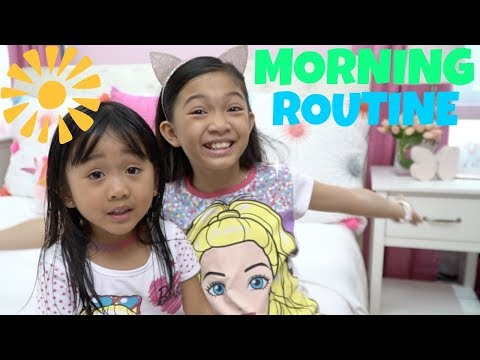 MORNING ROUTINE of Kaycee & Rachel