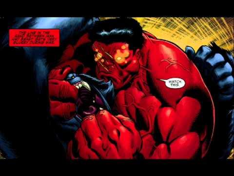 Red hulk vs juggernaut youtube - Pictures of red hulk ...