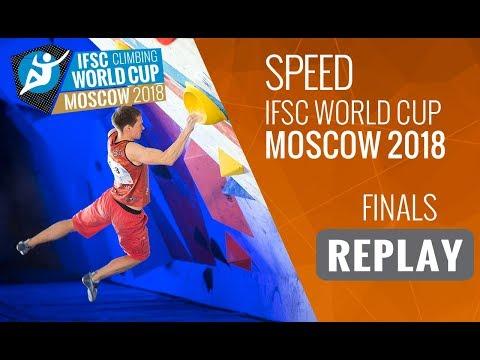 IFSC Climbing World Cup Moscow 2018 - Speed - Finals - Men/Women