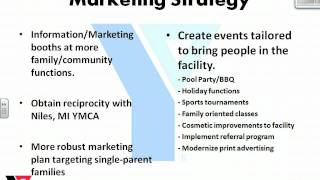 Marketing Plan Ymca