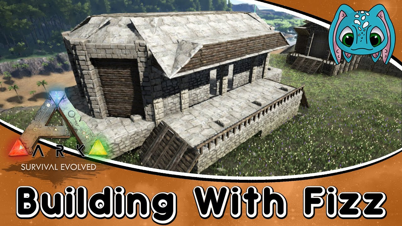 ARKSurvival Evolved Building W Fizz Bar amp Grill