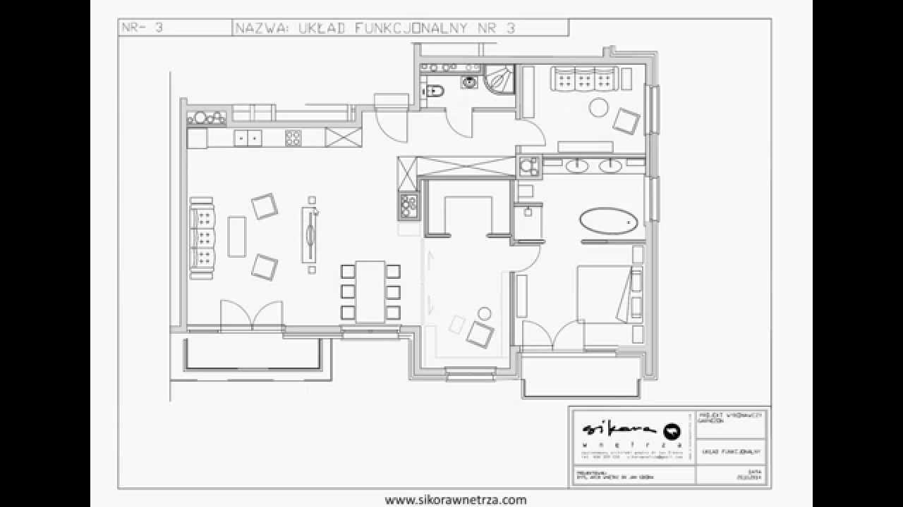 Projektowanie Wnętrza I Etap Układ Funkcjonalny