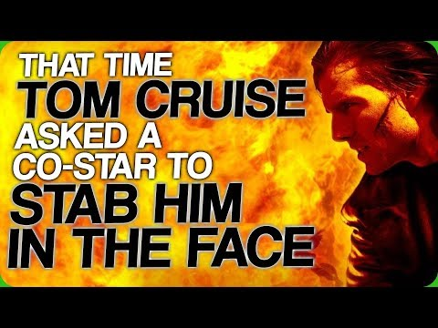 That Time Tom Cruise Asked A Co-Star To Stab Him In The Face (Discussing The Dark Universe Part 2)