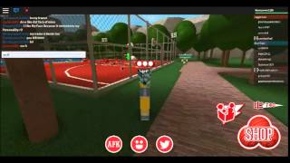 Roblox| Dodgeball new hat and new face!