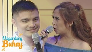 Magandang Buhay: MarJo reenacts a scene from their movie