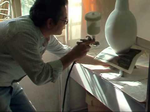 Esmaltado y cocci n de piezas grandes youtube for Ceramicas para piezas