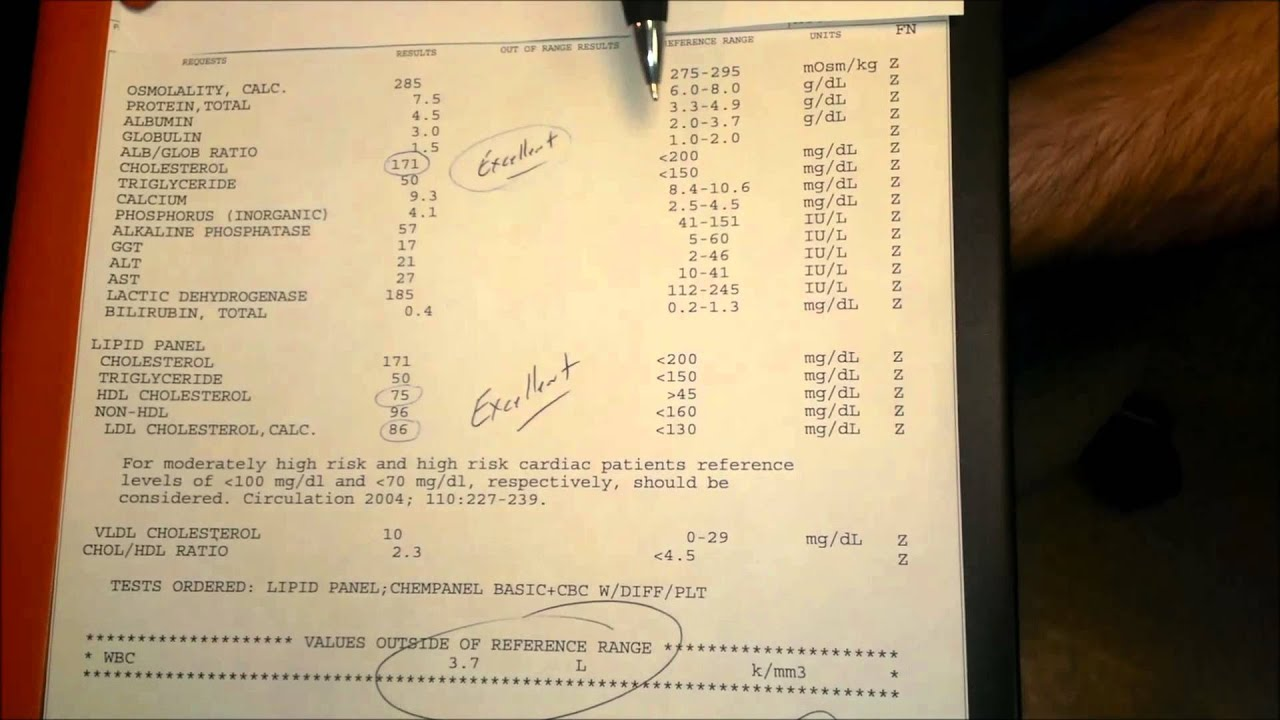 Dr Joe Brown How To Read Your Blood Work Labs Full