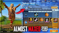Almost Maxed Out The Season 4 royale pass PUBG Mobile•Future Gaming