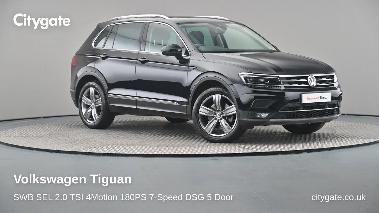 Volkswagen Tiguan - SWB SEL 2.0 TSI 4Motion 180PS 7-Speed ...