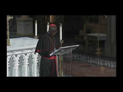 Cardinal Sarah - lecture in Toronto