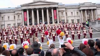 USC Trojan Marching Band (Trafalgar Square, London 20.05.2012)