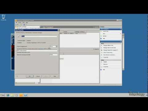 How to setup up SMTP Relay in Exchange Server 2010