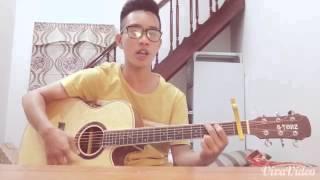 Quê hương tôi acoustic cover :)))