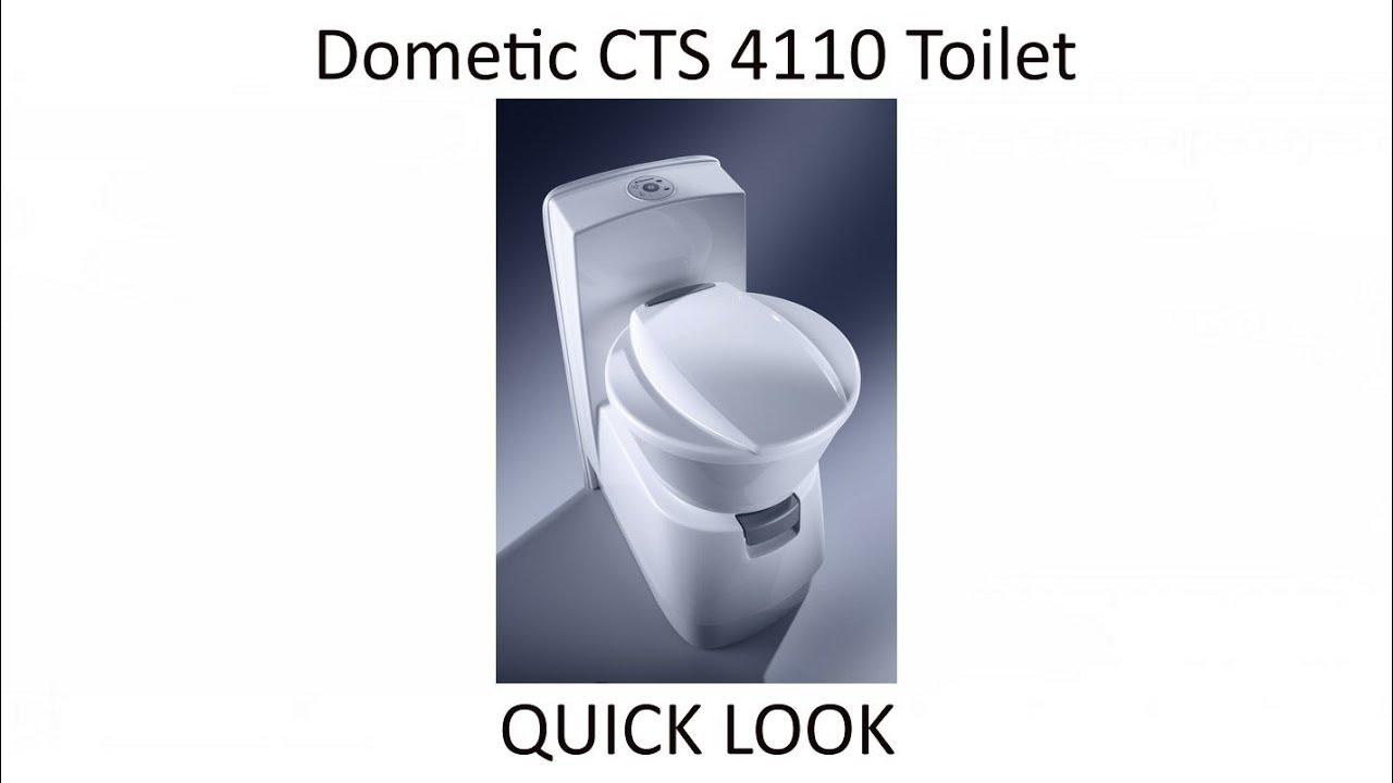 Dometic CTS 4110 Caravan Motorhome cassette toilet with ceramic bowl ...