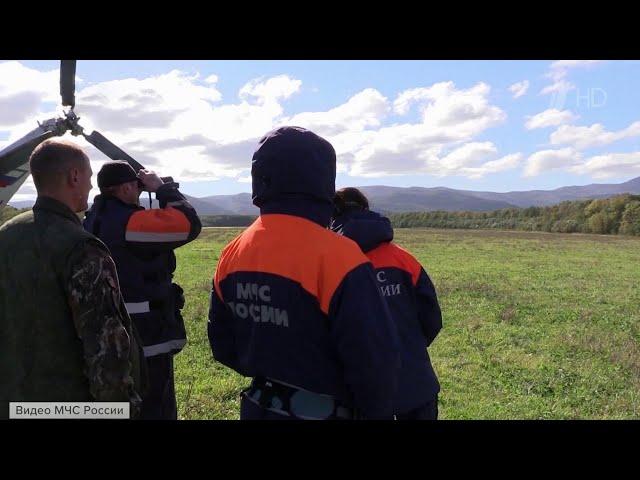В Хабаровском крае спасатели добрались до места крушения самолета Ан-26.