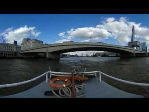 360 video of Livett's tugs wtih Virgin Media #BeTheFastest promo barge