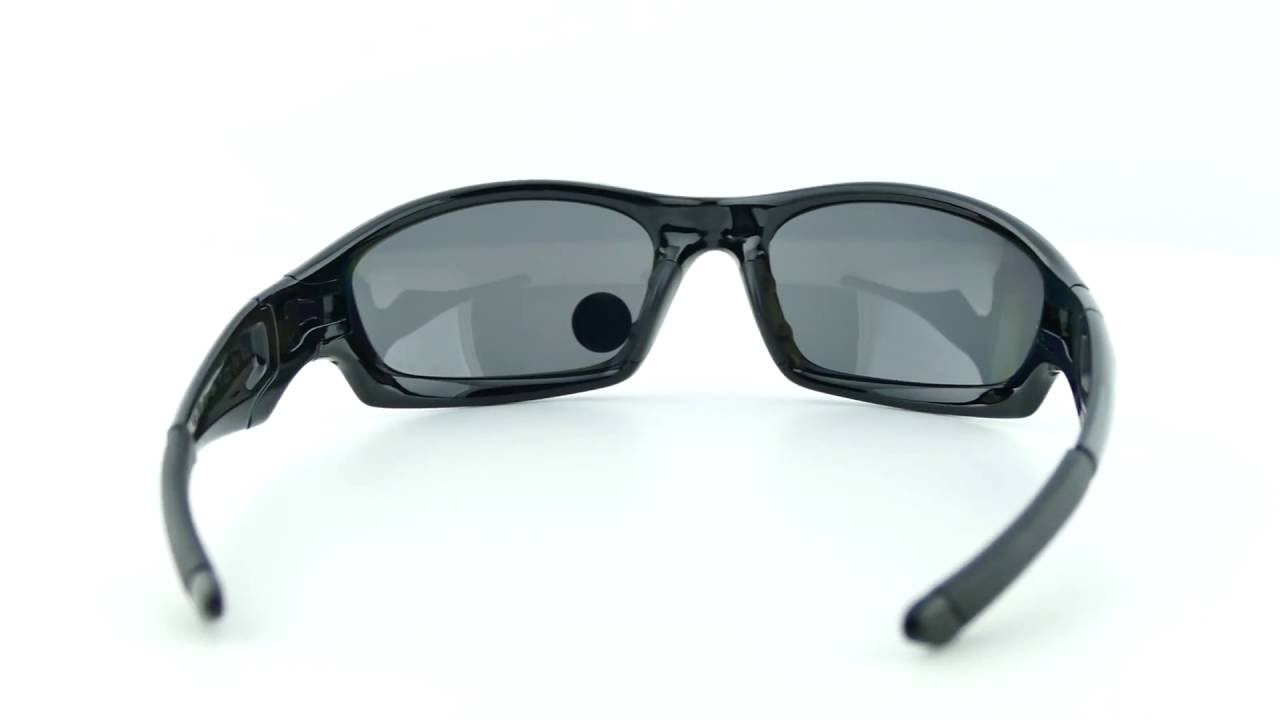 25f8abea674 OAKLEY Straight Jacket Polished Black Black Iridium Polarized-12-935 ...