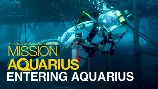 ENTERING AQUARIUS - Undersea Laboratory Tour