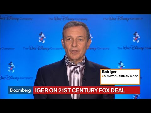Disney CEO Iger on Fox Deal, Murdoch, Sky Plc