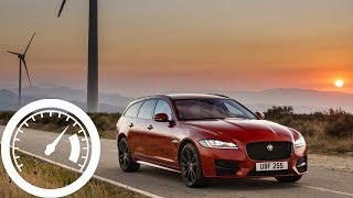 Jaguar XF 25d AWD: acceleration: 0-60 mph, 0-100 km/h, 0-200 km/h (top speed) :: 1001cars