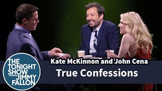 Jimmy, Kate McKinnon and John Cena play a game where they take turns confessing to a random fact, then interrogate each other to determine who was telling ...